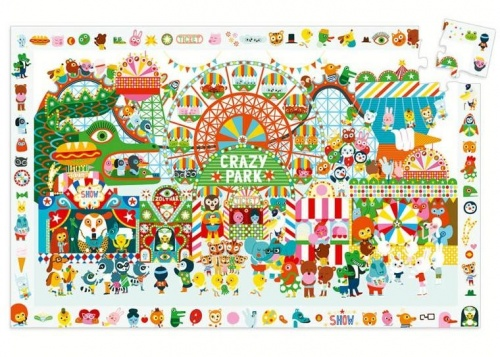 Böngésző Puzzle - Vidámpark