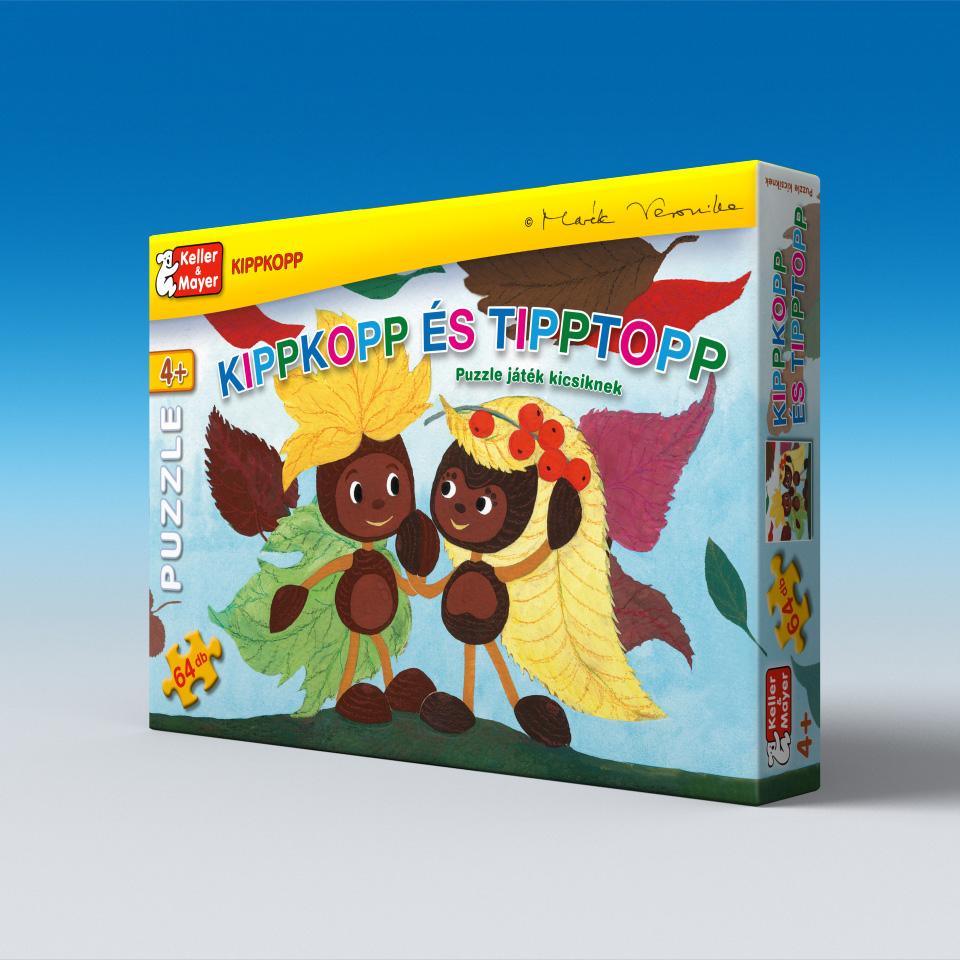 Kippkopp és Tipptopp - puzzle