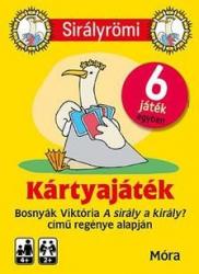 Sirály Römi (kártya) + rejtvényfüzet - Nyelvkincstár