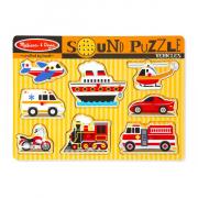Hangos puzzle - Járművek