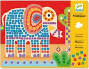 Mozaik képkirakó - Elefánt és csiga