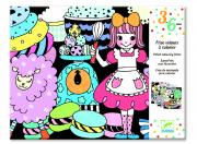 Óriás bársony színező - Sweet parade