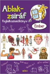 Ablak-zsiráf foglalkoztatókönyv - Ember