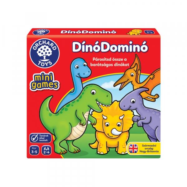 Mini játék – Dinó domino