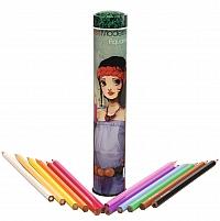 Miss Modeline - 12 akvarell ceruza - Juliette