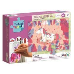 Vertikális Puzzle - Unikornis