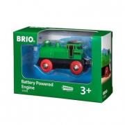 Brio - Elemes mozdony - zöld