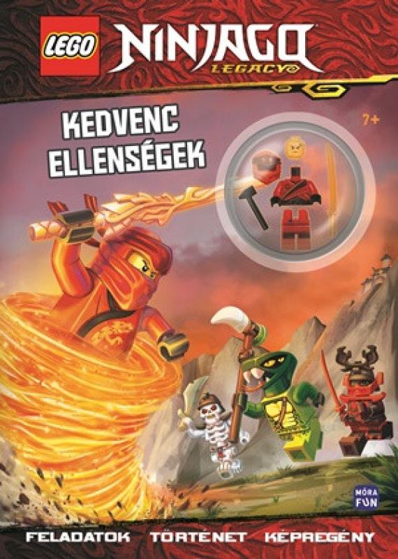 LEGO Ninjago - Kedvenc ellenségek - Foglalkoztatókönyv Kai minifigurájával
