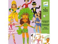 Mozgatható figurák - Táncosok