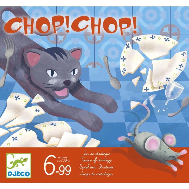 Chop Chop - Macska-egér Társasjáték