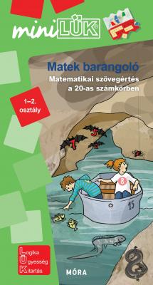 Matek barangoló – Matematikai feladatok 1–2. osztályosoknak  - miniLÜK