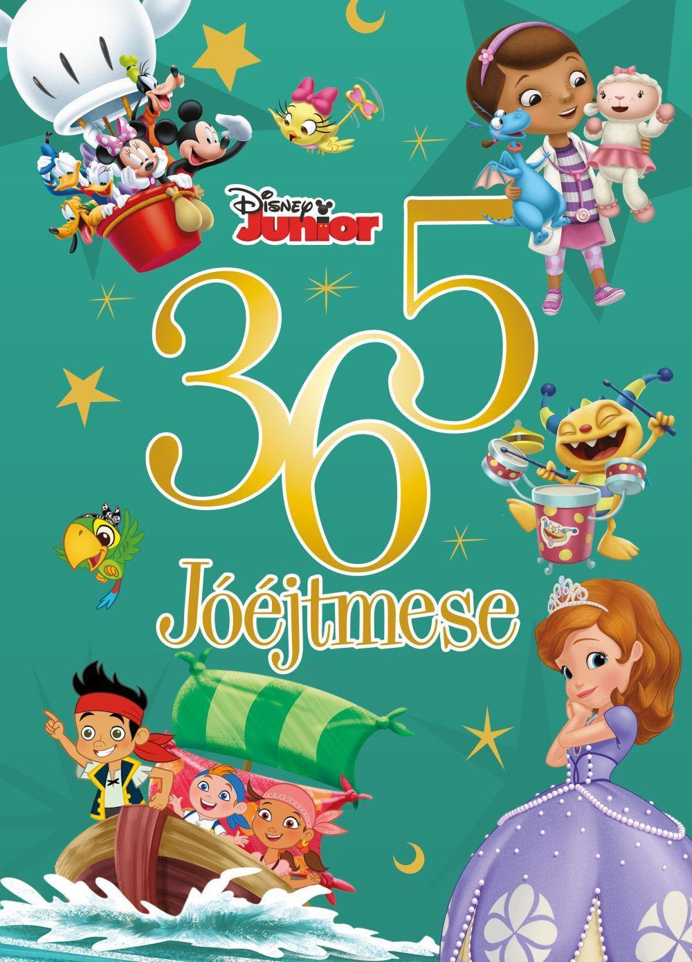 Disney Junior - 365 jóéjtmese