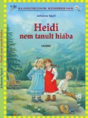 Heidi nem tanult hiába