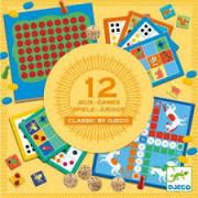 Klasszikus társasjáték gyűjtemény - 12 játékkal