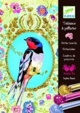 Csillámkép készítő - Csillogó madarak