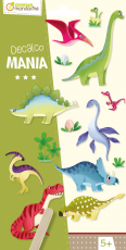 Satírozó matrica - Dinoszauruszok