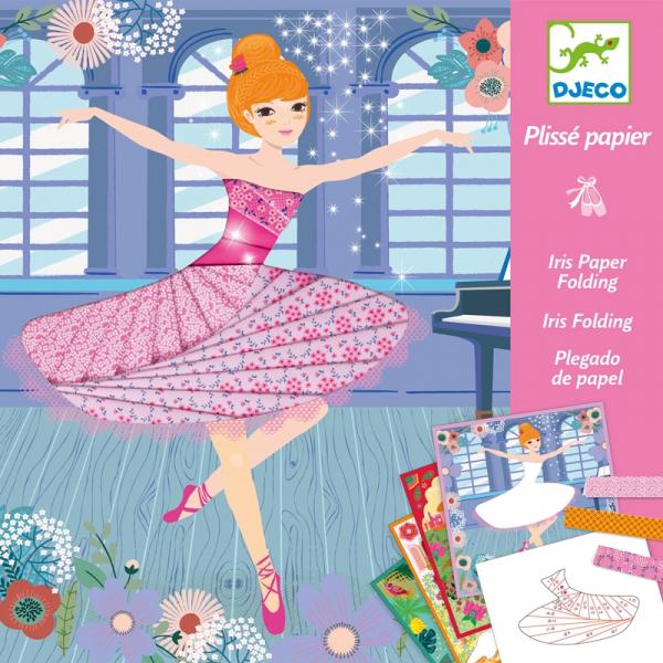 Írisz papírhajtogatás - Táncosok