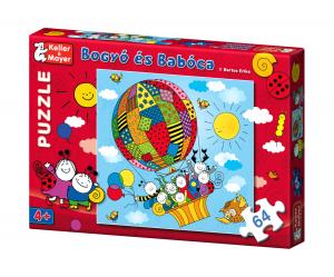Bogyó és Babóca puzzle - Léghajó