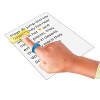 Kiemelő sorkövető - olvasást segítő eszköz - 4db