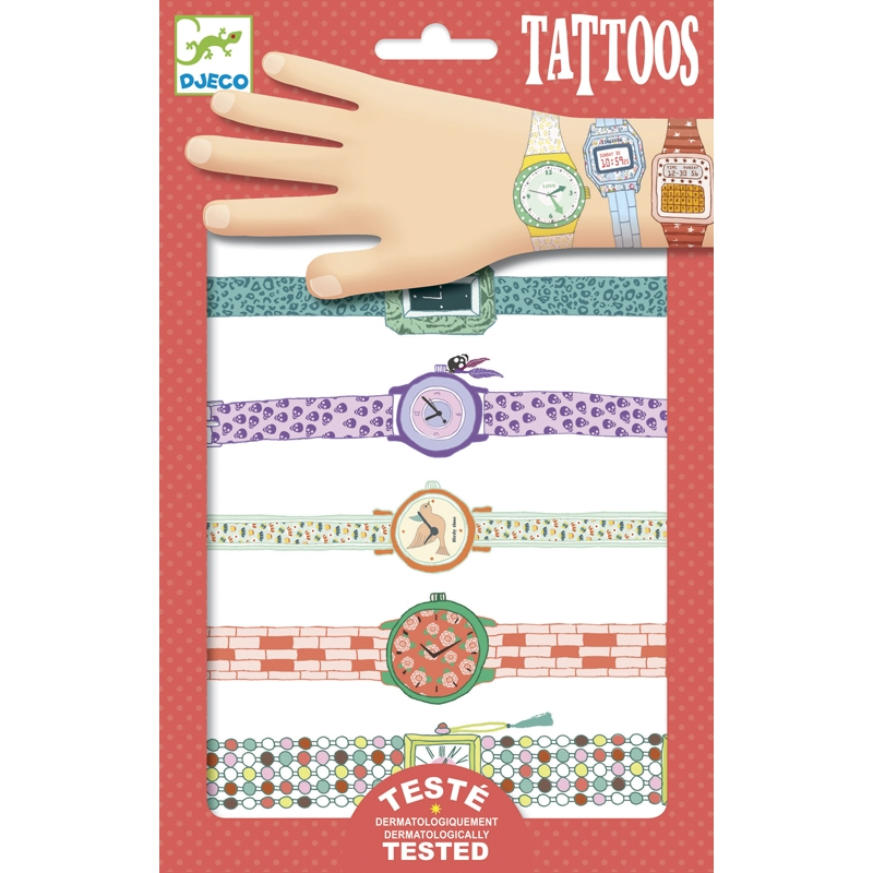 Tetoválás - Karórák