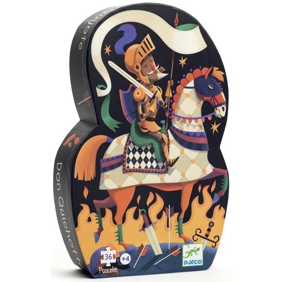 Formadobozos puzzle - A bús képű lovag