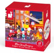 Mini sztori - tűzoltó figurák