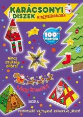 Karácsonyi díszek angyalkáknak - matricás foglalkoztatókönyv