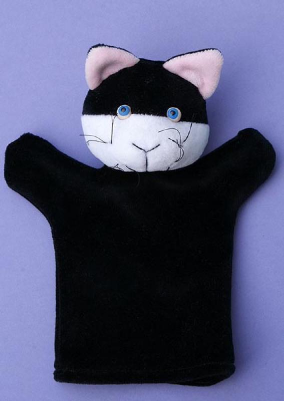 Kézbáb - Cica