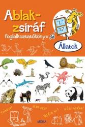 Ablak-zsiráf foglalkoztatókönyv - Állatok