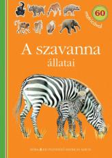 A szavanna állatai - matricás foglalkoztatókönyv