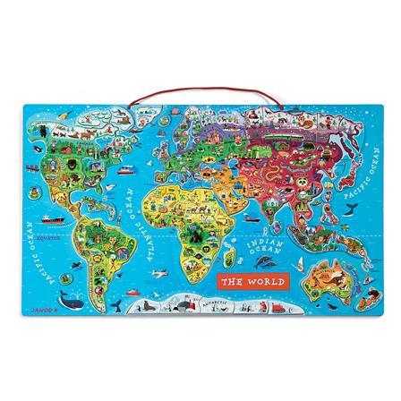 A világ - óriás mágneses puzzle