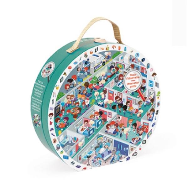 Puzzle bőröndben - Kórház
