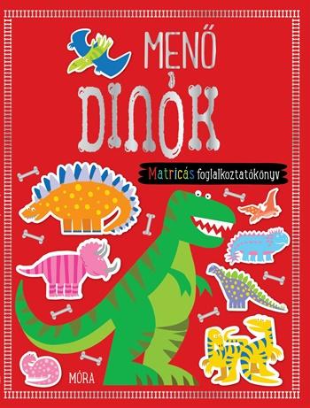 Menő dinók - matricás foglalkoztatókönyv