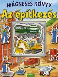 Az építkezés - Mágneses könyv