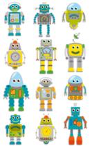 Cooky 3D matricák - Robotok