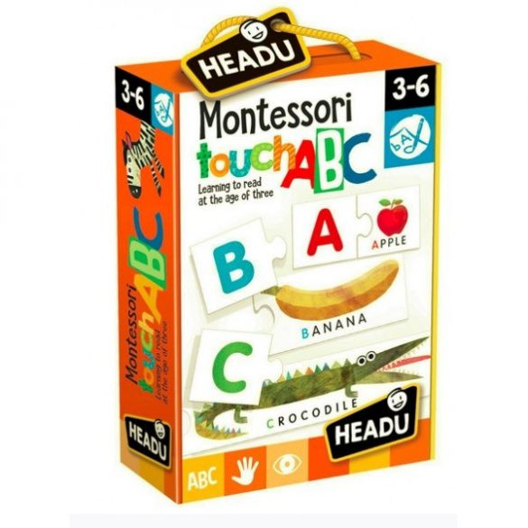 Montessori Touch Puzzle - ABC
