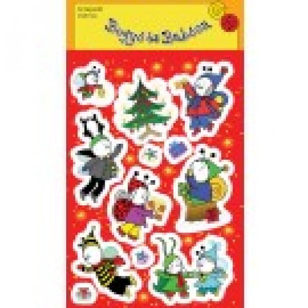Bogyó és Babóca matrica - Karácsony