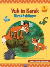 Vuk és Karak - puzzle könyv
