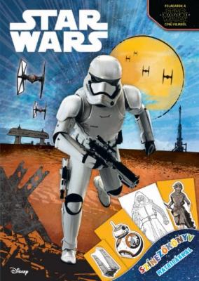 Star Wars - Színezőkönyv matricákkal