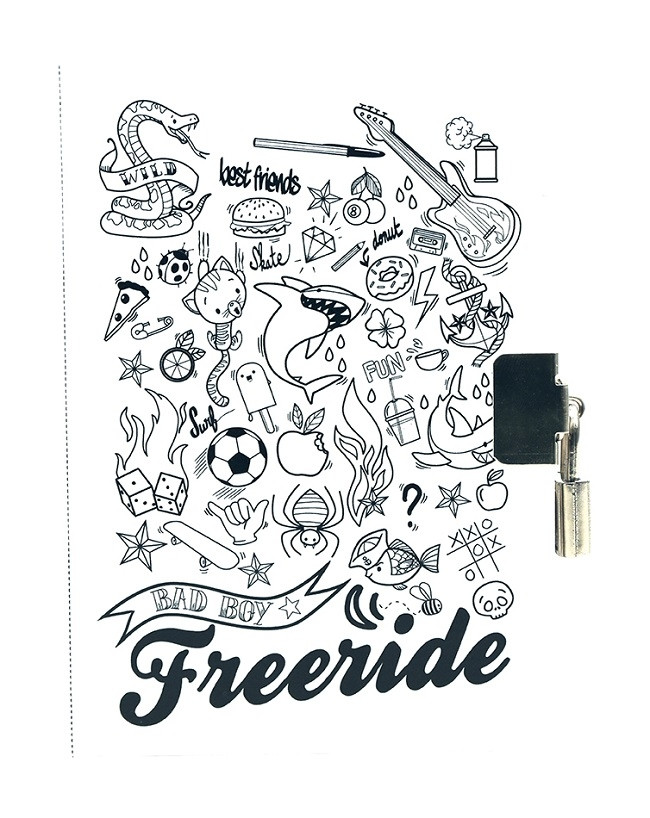 Titoknapló fiúknak - Freeride