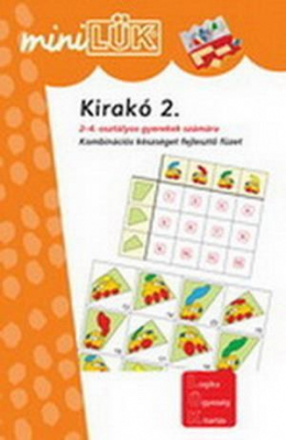 Kirakó 2. - Kombinációs készséget fejlesztő füzet LDI604 - miniLÜK