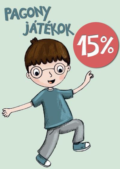 Pagony játékok 15% kedvezménnyel