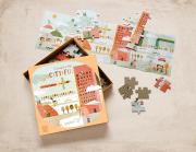 Városi kaland - 52db-os puzzle