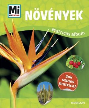 Növények - Mi Micsoda Matricás Album
