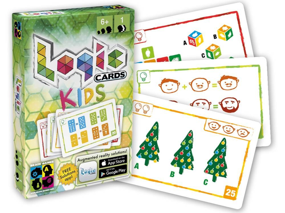 Logic Cards Kids - Logikai kártyajáték gyerekeknek