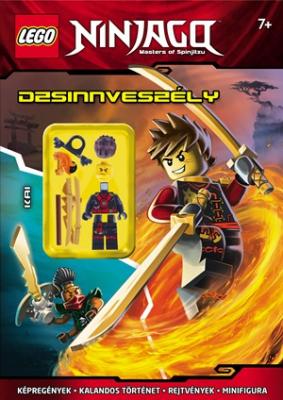 LEGO NINJAGO - Dzsinnveszély / ajándék minifigurával
