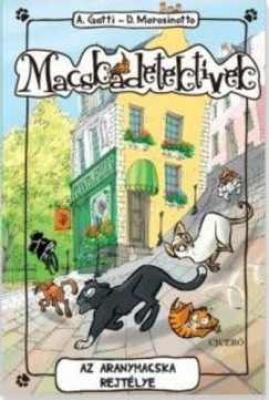 Macskadetektívek 3. - Az aranymacska rejtélye
