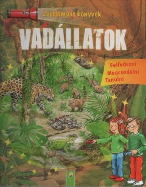 Vadállatok - Zseblámpás könyvek