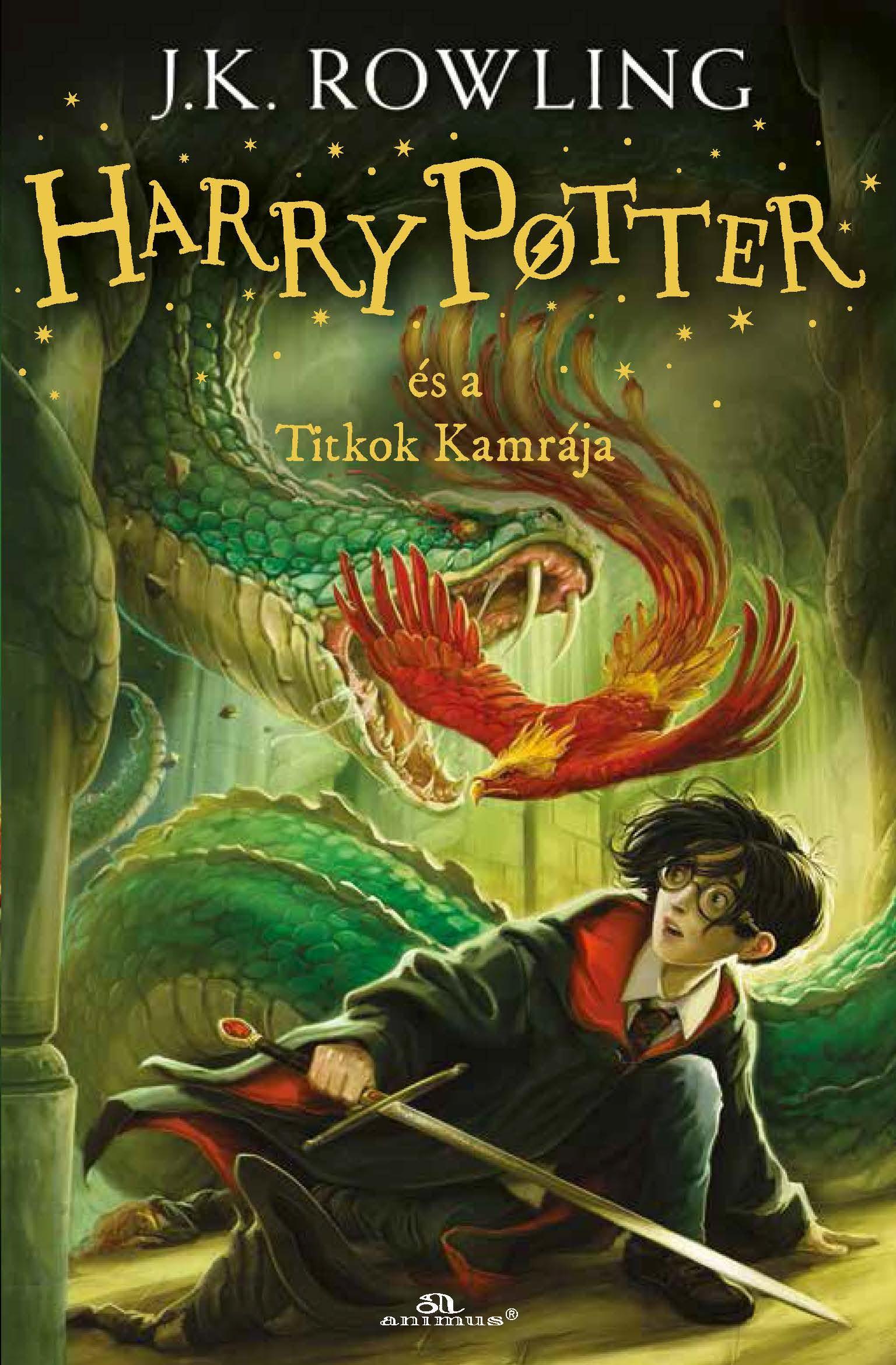 Harry Potter és a Titkok Kamrája - puha