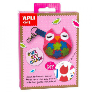 Mini Kit kulcstartó varrókészlet - Bagoly